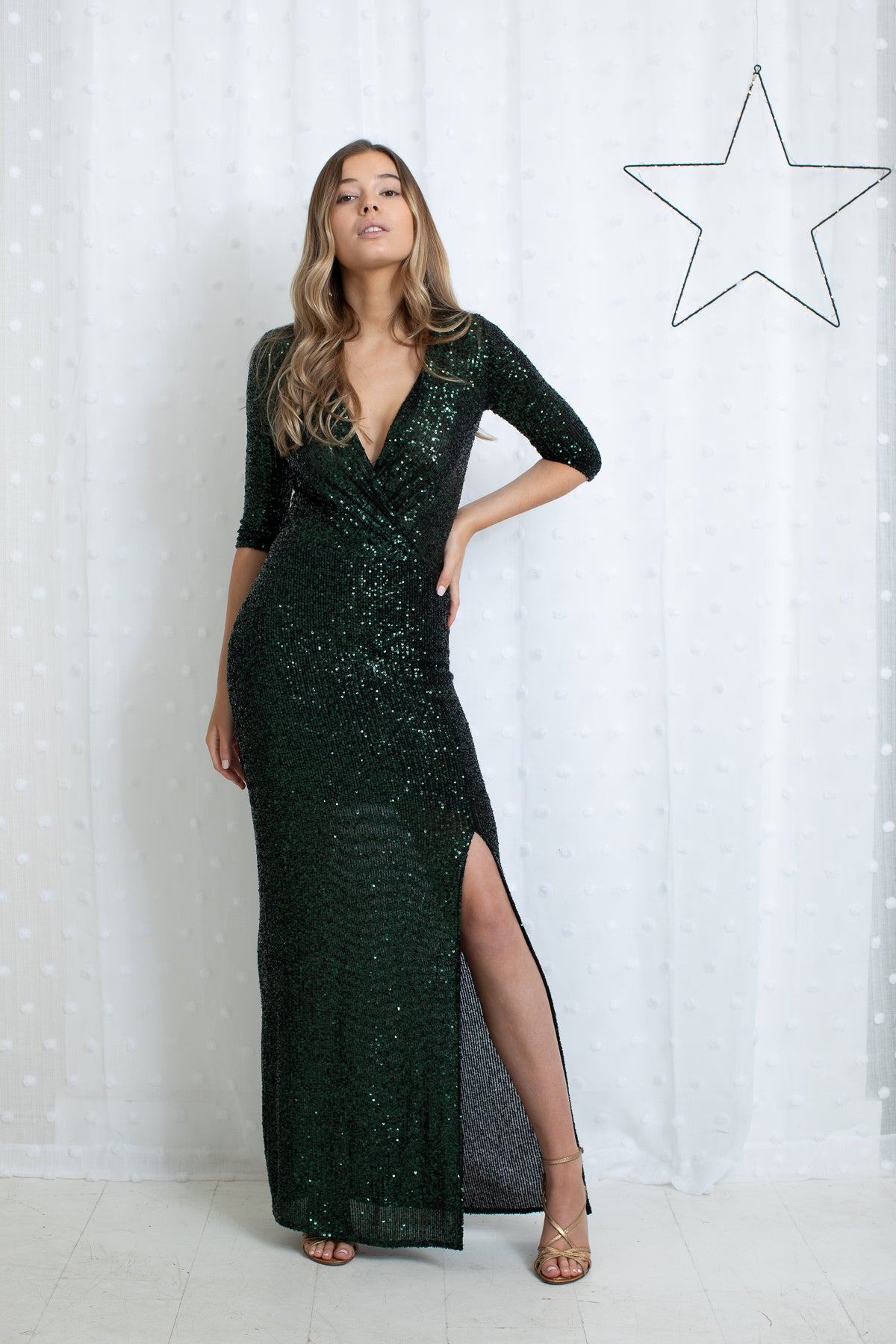 Sequin Disco Dunst Dress