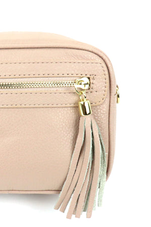 Side Zip Tassel Box Bag