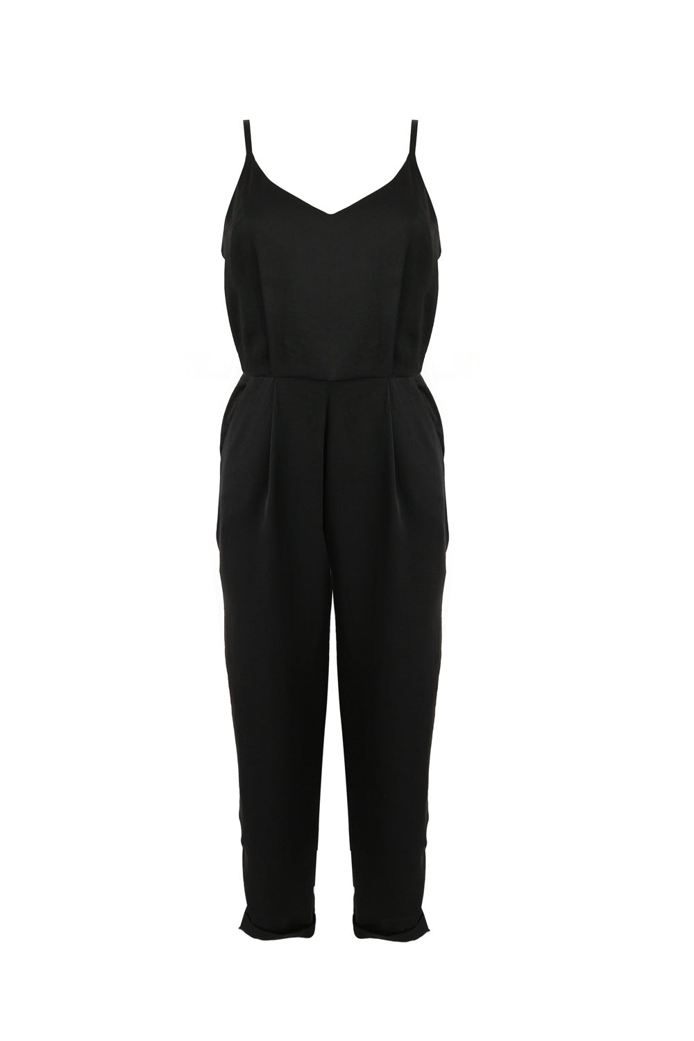 Miki Jumpsuit Hammered Satin
