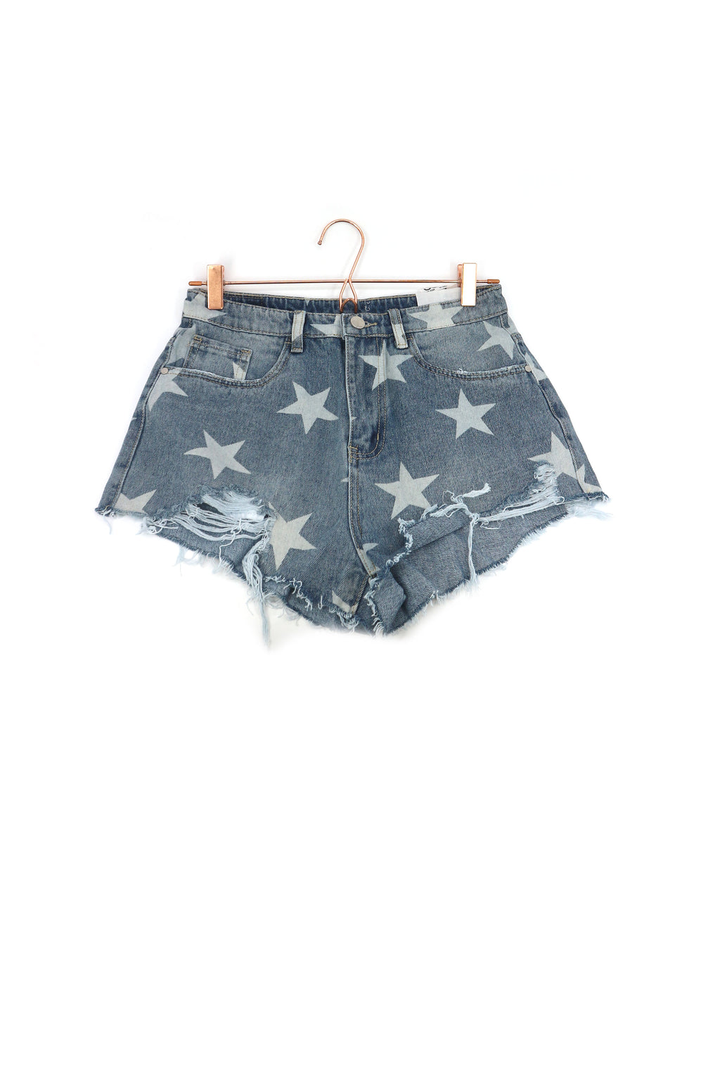 Star Denim Shorts 2020