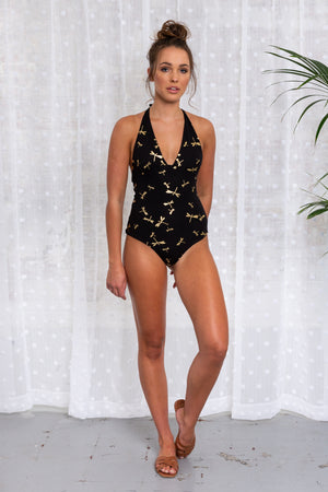 Chrissy T Swimsuit Dragonfly