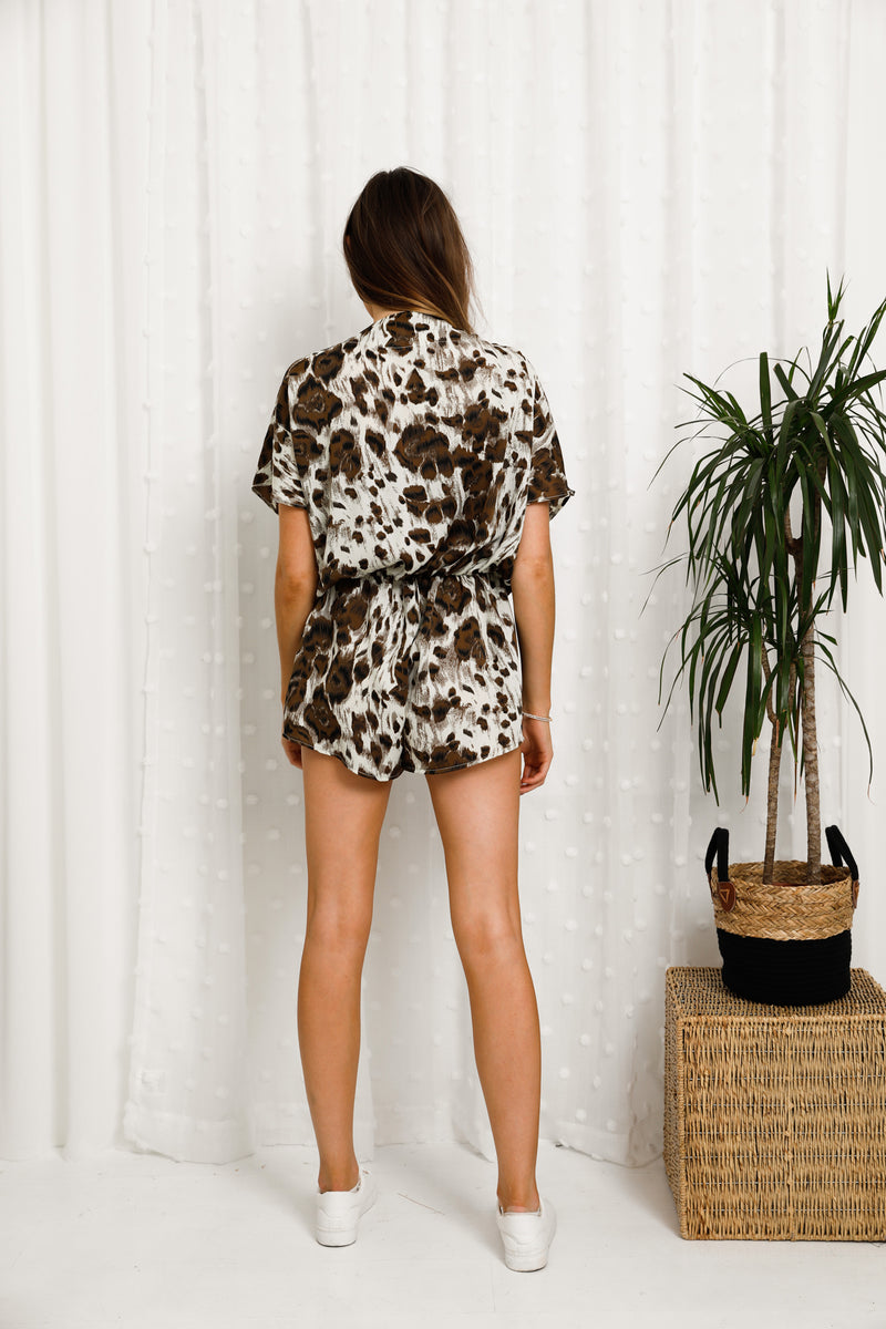 Charlotte Playsuit - Silky Print Edition