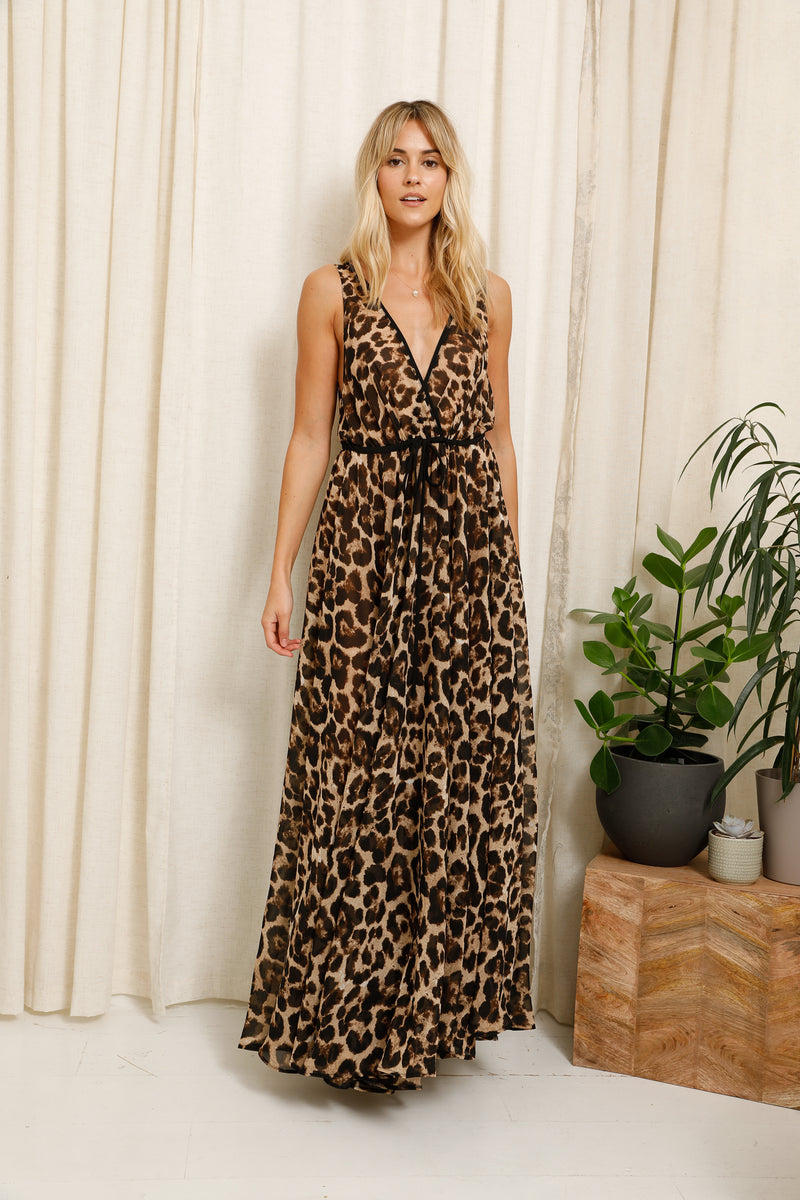 Lucie Dress Leopard