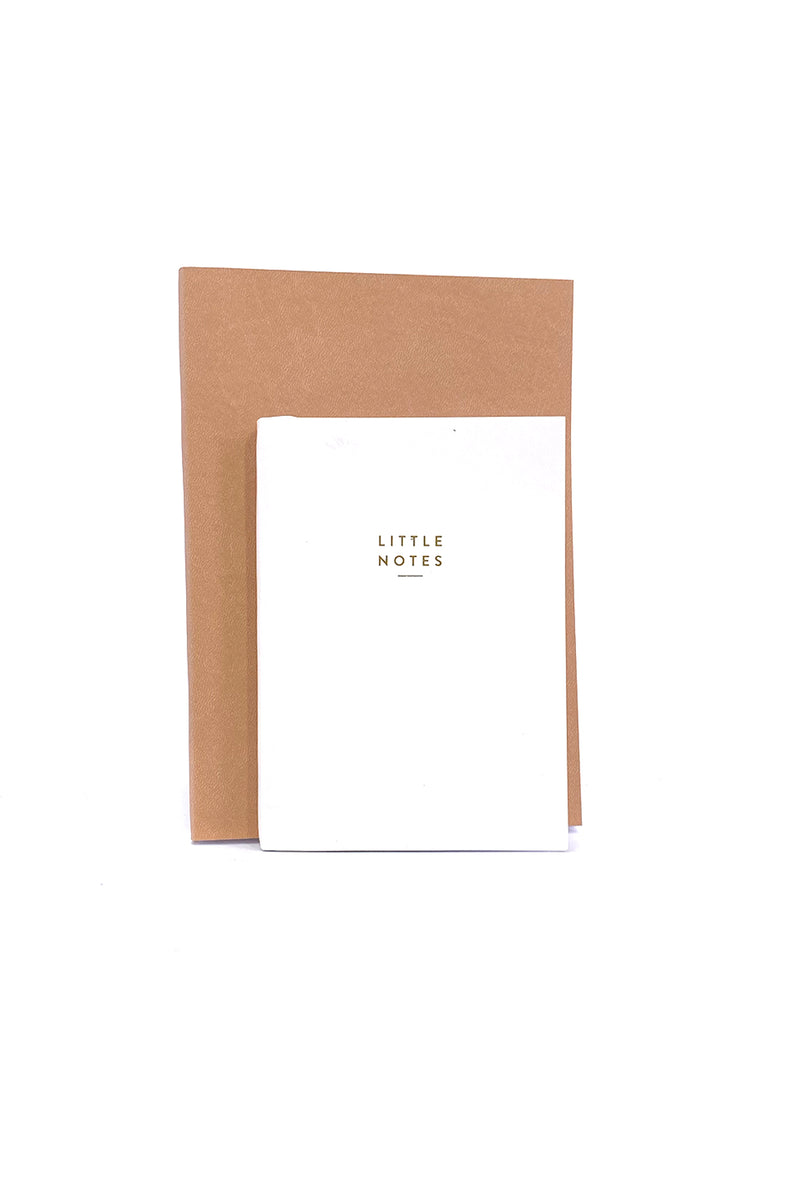 White Little Notes Notebook A6
