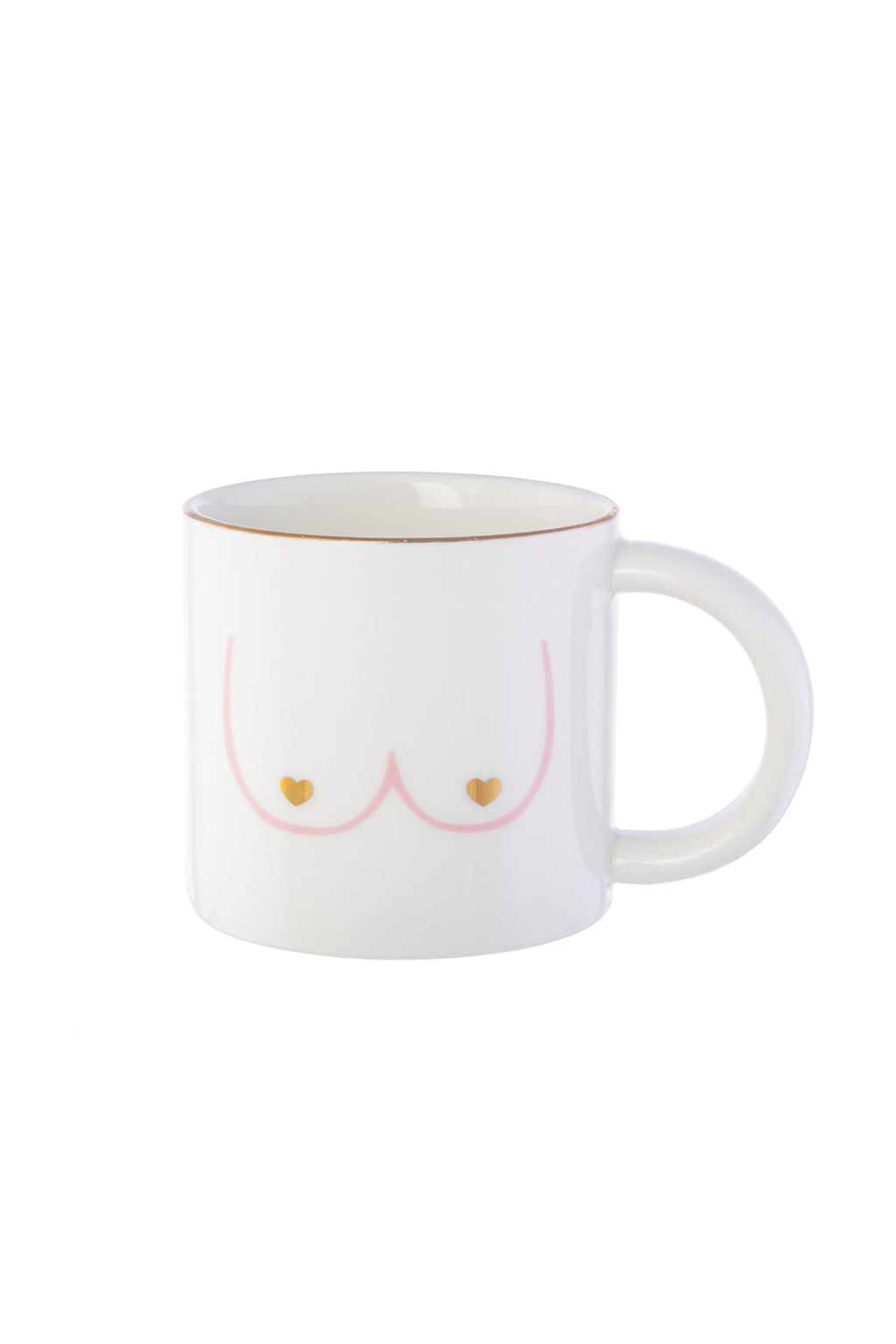 Girl Power Boobies Mug