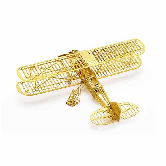 1/160 Boeing 40 3D DIY Brass Etched Model Kit RC Airplane Metal Puzzle Miniature Toy Adult Hobby-Electro Shop
