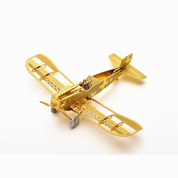 1/160 Scale Junkers D-1 3D DIY Metal Brass Etched Model Kit Puzzle Assembled Model RC Airplane-Electro Shop