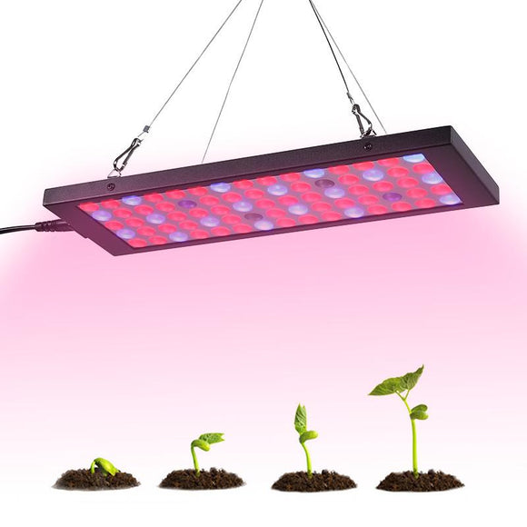 15 Watt LED Grow Light - 810 Lumen, 75 LEDs, 53x vermelhos, azuis 18x, 2x UV, 2x IR, Eficiência energética-Electro Shop