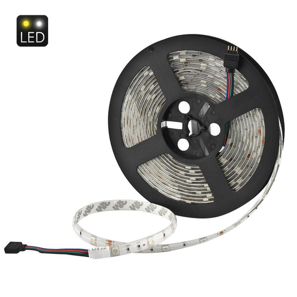 5 Medidor de 36W RGB LED Light Strip - SMD5050, IP65, 30 LED por metro, 20 Key Infrared Música controle remoto-Electro Shop