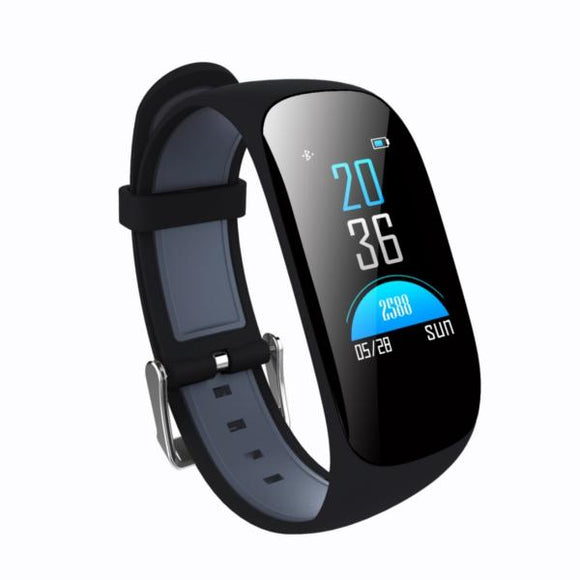 Bakeey Z17c Blood Oxygen Heart Rate Monitor Fitness Tracker GPS Sport Bluetooth Smart Wristband-Electro Shop