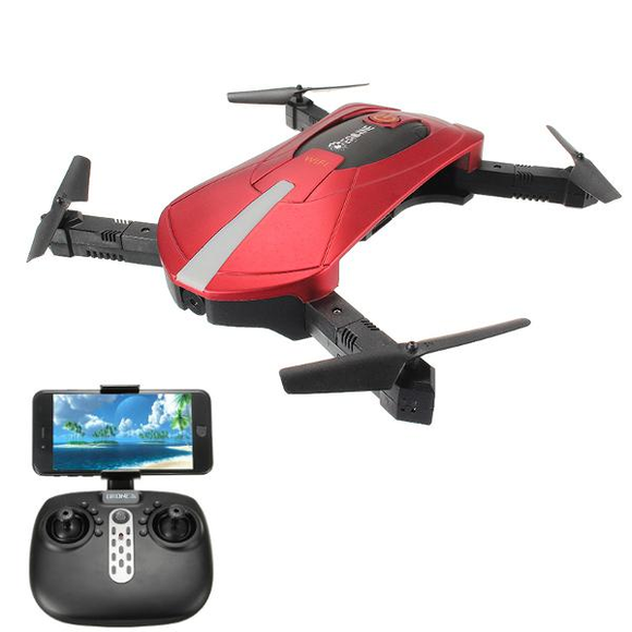 Eachine E52 WiFi FPV Selfie Drone With High Hold Mode Foldable Arm RC Quadcopter RTF-Electro Shop