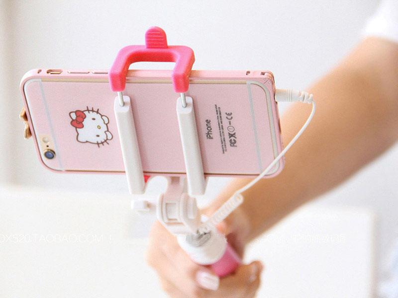 4f370aafbb9379 ... Pau Selfie para iPhone 5 5S SE 6 6S Plus IOS Android Mobile Phone  Universal Candy ...