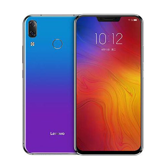 Smartphones Lenovo Z5 6.2-inch FHD+ 19:9 Android 8.1 6GB RAM 64GB ROM Snapdragon 636 1.8GHz 4G Smartphone-Electro Shop