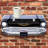 1957 BELAIR FRONT WALL SHELF W/LIGHTS