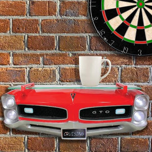 1966 Pontiac GTO Wall shelf with Lights