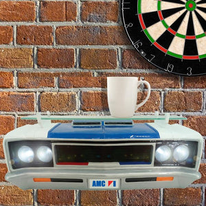 1970 AMC REBEL MACHINE WALL SHELF W/LIGHTS