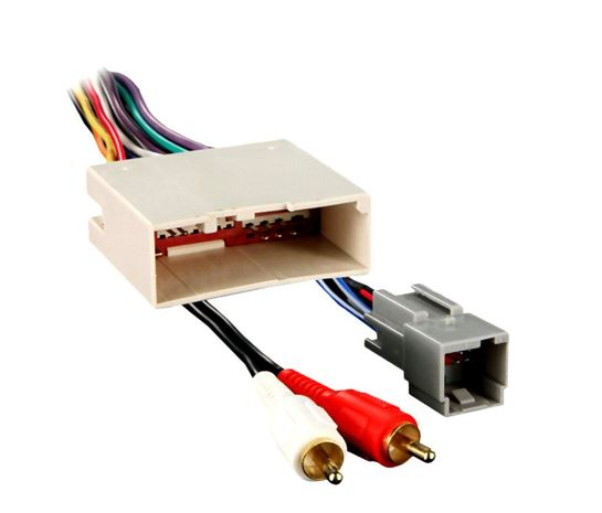 Metra® - Aftermarket Radio Wiring Harness with OEM Plug on
