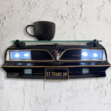 77 Pontiac Firebird Trans AM, Black W/Lights