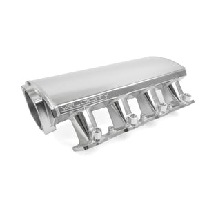 Top Street Performance Intake Manifold - TSP Velocity Fab. Aluminum Rectangle Port Angled, Anodized