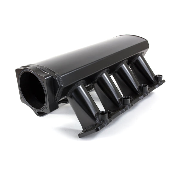 Top Street Performance Intake Manifold - TSP Velocity Fab. Aluminum Rectangle Port Hi-Ram, Black