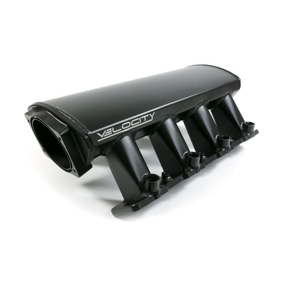 Top Street Performance Intake Manifold - TSP Velocity Fab. Aluminum Raised Rectangle Port, Black