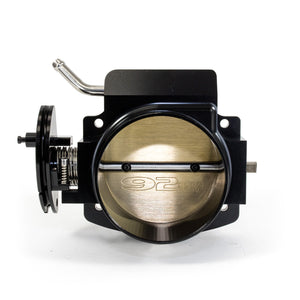 Top Street Performance Throttle Body - 92mm TSP Velocity Billet Aluminum - LS, Black