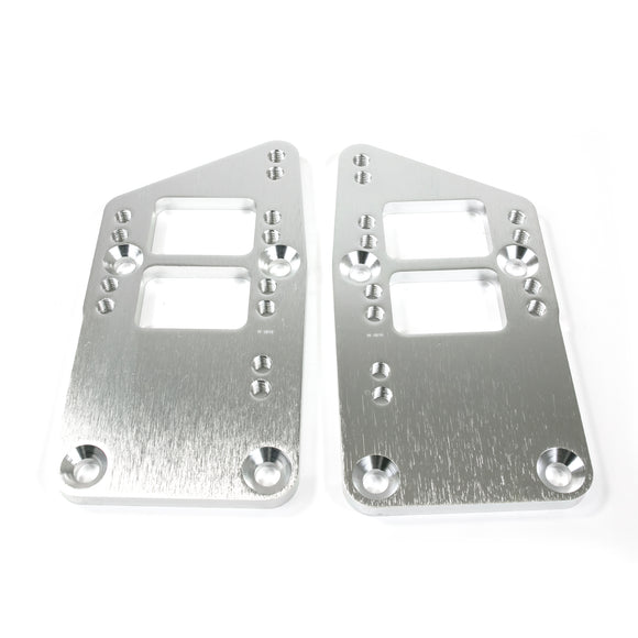 Top Street Performance Engine Mount Adapter Plate - Aluminum LS to SBC/BBC, Machined