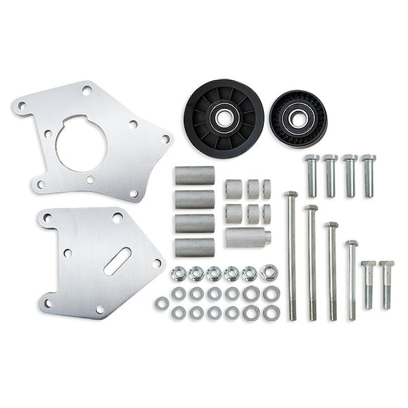 Top Street Performance Relocation Bracket - Aluminum A/C - LS1, LS2 Truck Applications, Machined