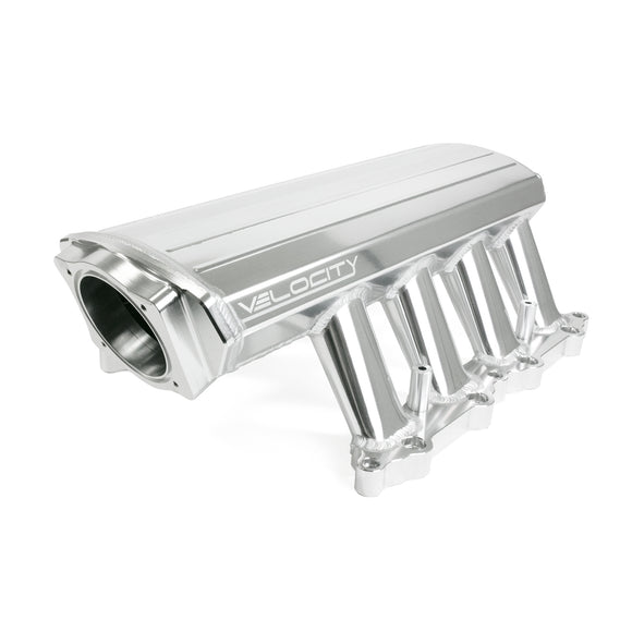 Top Street Performance Intake Manifold - TSP Velocity Fab. Aluminum 5.0 Coyote, Black