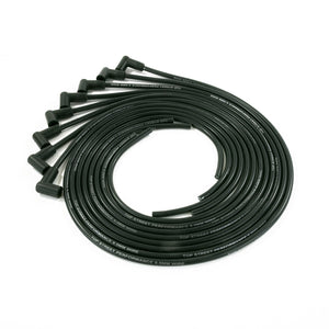 Top Street Performance Universal Ignition Wires - 8.5mm Black, 90? Plug Boots