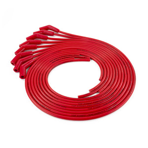 Top Street Performance Universal Ignition Wires - 8.5mm Red, 135? Plug Boots