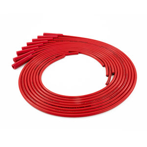 Top Street Performance Universal Ignition Wires - 8.5mm Red, Straight Plug Boots