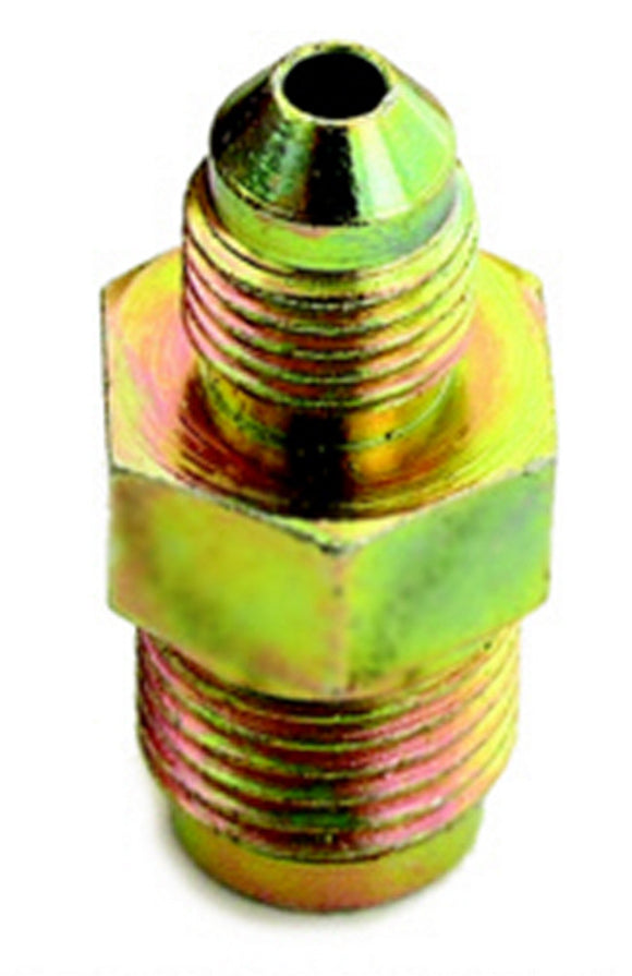 3/8-24 to #4 Stl Invertd Male Flare Adapter