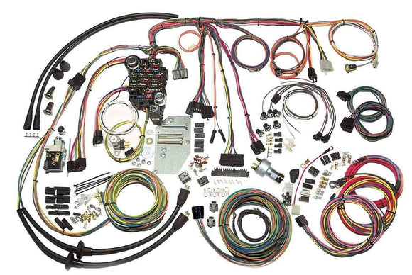 55-56 Chevy Classic Update Wiring System