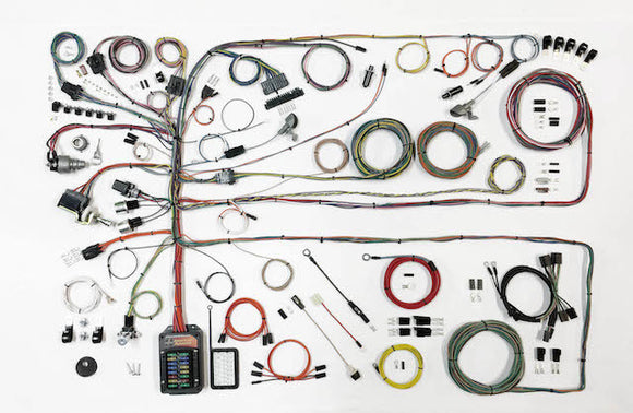 57-60 Ford Truck Wiring Harness