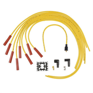 8mm Straight End Supp YELLOW UNIVERSAL