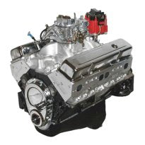 BluePrint Engines 396CI Stroker Crate Engine Small Block GM Style Dressed Longblock with Carburetor