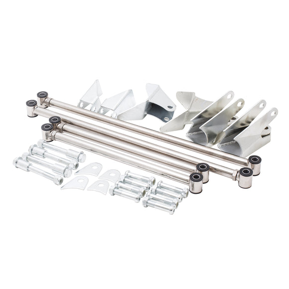 Top Street Performance Suspension Kit - 4-Link Rear-End 1932 Ford - Stainless Steel