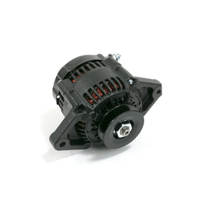 Top Street Performance Alternator - GM Mini Denso Style Race V-Belt 90 Amps, Black