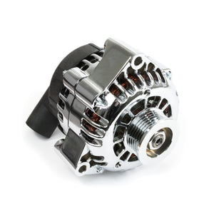 Top Street Performance Alternator - GM CS130D Serpentine Belt 180 Amps, Black - LS Car Engines