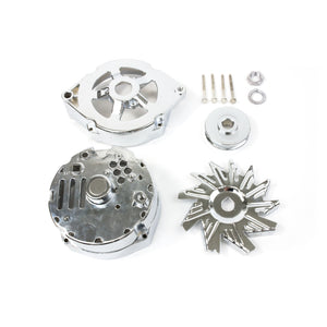 Top Street Performance Alternator Dress-Up Kit - GM 10SI, Chrome