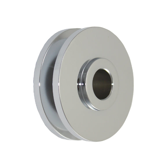 Top Street Performance Alternator Pulley - Single Groove Chrome Steel