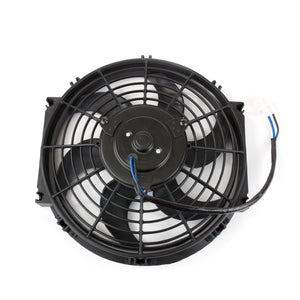 "Top Street Performance Universal Radiator Fan - S-Blade - 10"" Black"