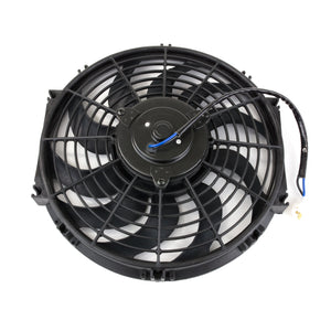 "Top Street Performance Universal Radiator Fan - S-Blade - 12"" Black"