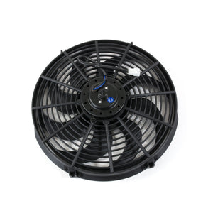 "Top Street Performance Pro Series Universal Radiator Fan - S-Blade - 14"" Black"