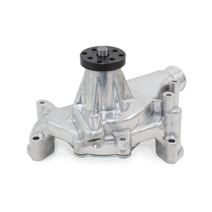 Top Street Performance Mechanical Water Pump - Aluminum, Polished - Chevrolet Small Block Long Neck