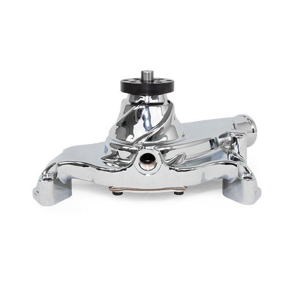 Top Street Performance Mechanical Water Pump - Aluminum, Chrome - BBC Gen 2