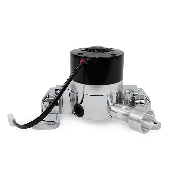 Top Street Performance Electric Water Pump - Aluminum, Chrome - Ford Small Block (289, 302)