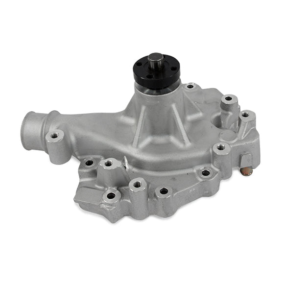 Top Street Performance Mechanical Water Pump - Aluminum, Satin - Ford Big Block (429, 460)