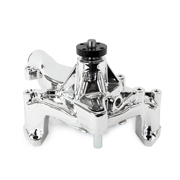 Top Street Performance Mechanical Water Pump - Aluminum, Chrome - Ford FE (390, 428, 352)